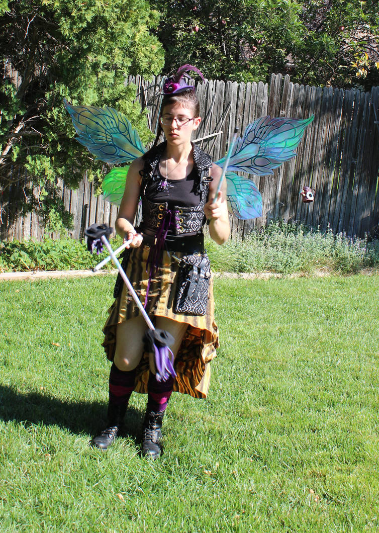 Model Stock - Steampunk Fairy Front by Qrinta