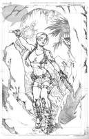 Tomb Raider by Kevin Sharpe by deianira-fraser