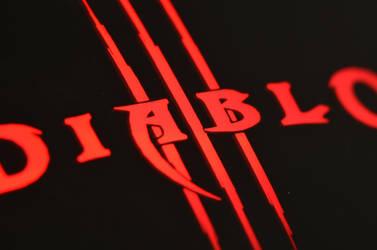 Diablo 3 gaming mouse illuminted by deianira-fraser