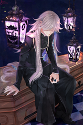 Undertaker. by Sweet-Eglantine