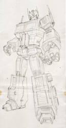 Optimus Prime by Maxduro