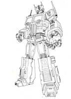 Optimus Prime Ink by Maxduro