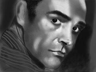 James Bond Portrait by Maxduro