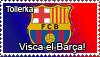 FC Barcelona stamp by Tollerka