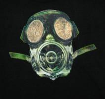 Gas Mask Shirt by sirris