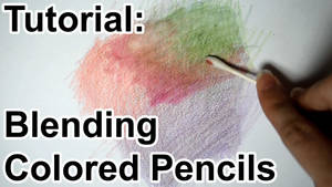 Tutorial: Blending Colored Pencils (VIDEO) by sambeawesome
