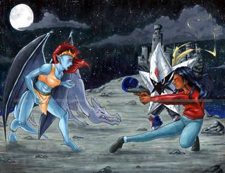 Midnight Battle by sambeawesome