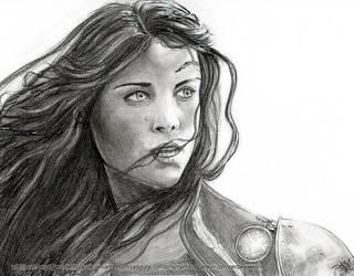 Avengers: Lady Sif by sambeawesome