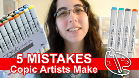 5 Mistakes Copic Artists Make [Vid] by sambeawesome