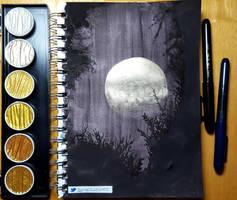 Moon by sambeawesome