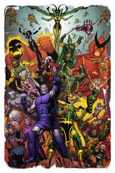 Evil Gods by spidermanfan2099