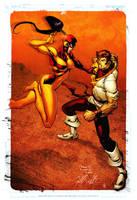 Karate Kid vs Judomaster by spidermanfan2099