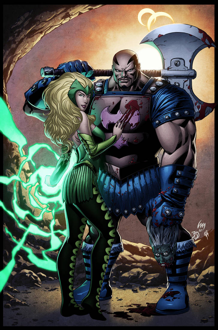 Enchantress and Executioner by spidermanfan2099