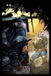 G.I.Joe 10 cover coloured by spidermanfan2099