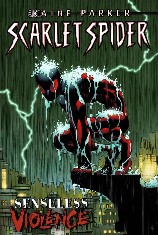 Scarlet Spider Senseless Violence v2 by spidermanfan2099