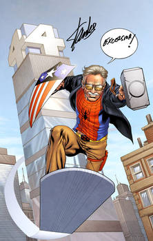 Stan the Man by spidermanfan2099
