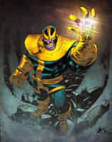 Thanos by spidermanfan2099