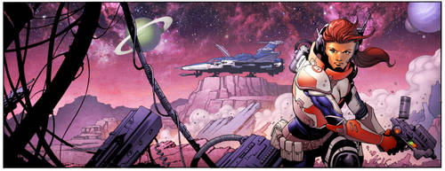 Space Panel by spidermanfan2099
