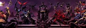Bat family! by spidermanfan2099