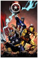 Avengers Trinity by spidermanfan2099