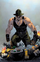 Sgt Slaughter by spidermanfan2099