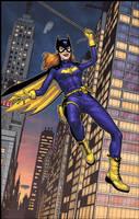 Batgirl by spidermanfan2099