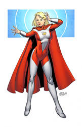 Saturn Woman by spidermanfan2099
