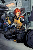 Scarlett Infiltration by spidermanfan2099