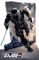 Snake Eyes Signature Plate by spidermanfan2099