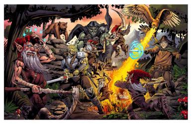 GCP Ep100 Battle Scene by spidermanfan2099