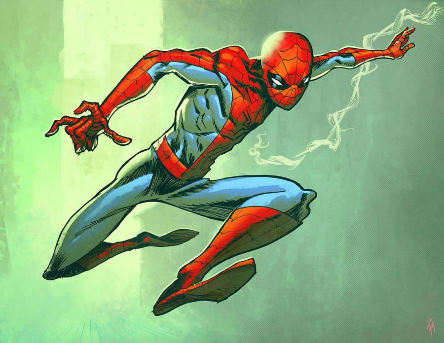 Spidey warm up by spidermanfan2099