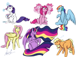 Pregger Ponies  by PitterPaint
