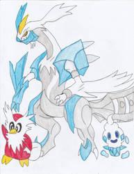 Ice pokemon by teamspike1