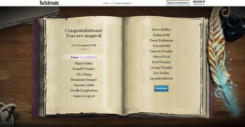 Pottermore by A-J-Crowley