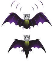 Bat Vector by allendarylcz