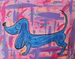 Lucky Dog by JennyJump