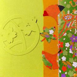 Green 1, beginner Kirigami by JennyJump