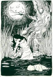 .:Moonlight Shadow:. by panijeziora