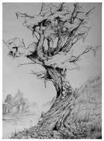 .:Dziwne Drzewo:. by panijeziora