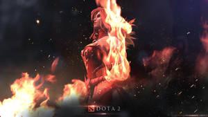 [Re-Work] Lina - The Slayer / DOTA 2 by neonkiler99