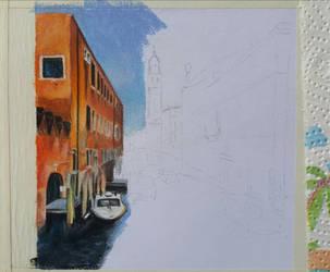 Venice (WIP 2) by MariaIla