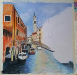 Venice (WIP 3) by MariaIla