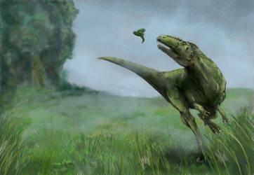 Dinosaur by Hirschpiel