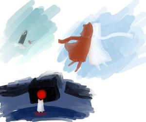 Journey doodles by HikariOkami