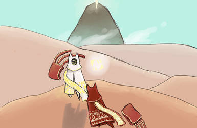 Angel of the sands redone by HikariOkami