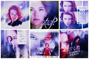 Black Widow icons by YeRimoonlight