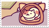 neko atsume stamp by aestheticstamps