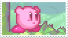 kirby stamp by aestheticstamps