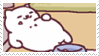 neko atsume stamp 5 by aestheticstamps