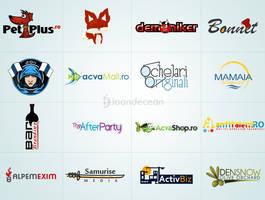 Logo design showcase 9 by nelutuinfo